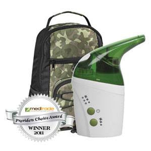 Camo UltraSonic Nebulizer Machine Green
