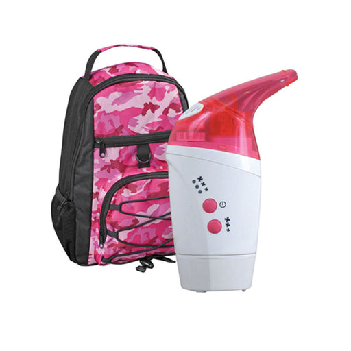 Buy Pink NebPak UltraSonic Nebulizer Machine for Asthma Treatments online used to treat Nebulizer Machines - Medical Conditions
