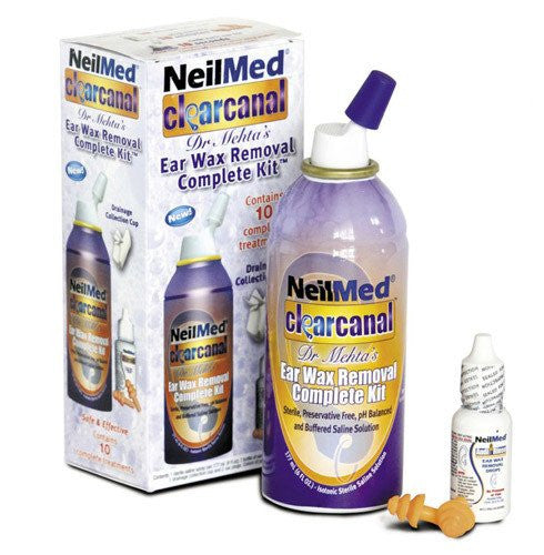 Buy NeilMed Clear Canal Ear Wax Removal Kit by NeilMed Pharmaceuticals from a SDVOSB | Ear Supplies
