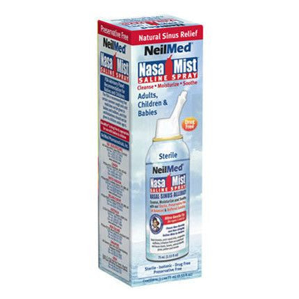 Buy Nasamist Isotonic Saline Spray 75 mL by NeilMed Pharmaceuticals | Home Medical Supplies Online