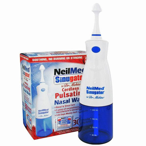 Buy Neilmed Sinugator Cordless Nasal Wash System online used to treat Allergy Relief - Medical Conditions