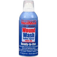 Buy NeilMed Wound Wash Saline Spray 6 fl oz by NeilMed Pharmaceuticals from a SDVOSB | First Aid Supplies