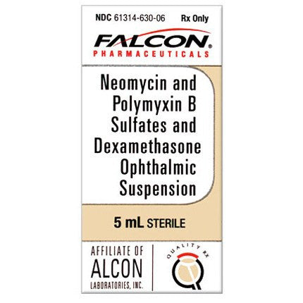 Neomycin Polymyxin B Sulfates Dexamethasone Ophthalmic Suspension