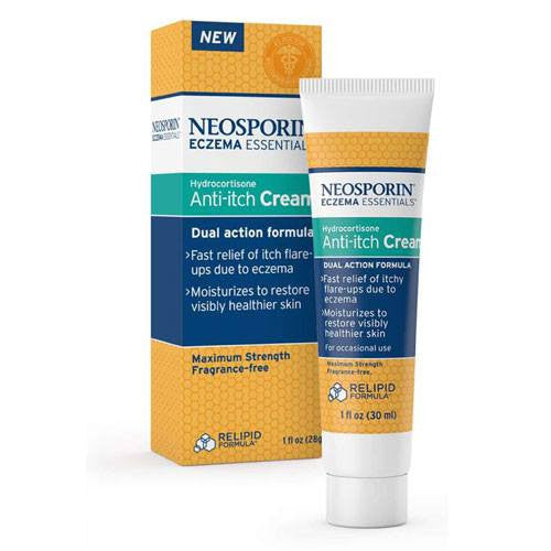 Neosporin Eczema Essentials Anti-Itch Cream 1 oz
