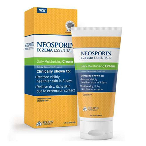 Buy Neosporin Eczema Relief Dry Skin Moisturizing Cream online used to treat Dry Skin Treatment - Medical Conditions