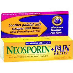 Buy Neosporin Plus Pain Relief Antibiotic Ointment with Coupon Code from Johnson & Johnson Sale - Mountainside Medical Equipment