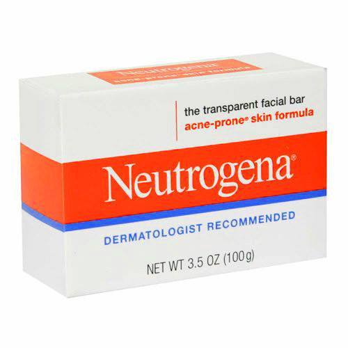 Neutrogena Acne Prone Facial Bar Soap 3.5 oz