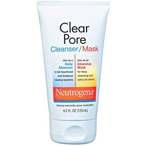 Buy Neutrogena Clear Pore Cleanser and Face Mask 4.2 oz online used to treat Beauty Products - Medical Conditions