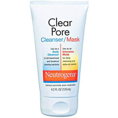 Buy Neutrogena Clear Pore Cleanser and Face Mask 4.2 oz by Neutrogena | SDVOSB - Mountainside Medical Equipment