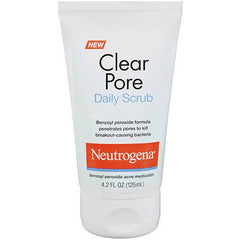 Neutrogena Clear Pore Daily Face Scrub 4.2 oz for Beauty Products by Neutrogena | Medical Supplies