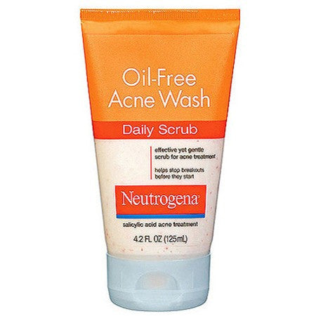 Neutrogena Oil-Free Acne Wash Daily Scrub, 4 oz for Acne by DOT Unilever | Medical Supplies