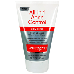 Buy Neutrogena Oil Free Acne Wash Daily Scrub 4 .2 oz online used to treat Beauty Products - Medical Conditions