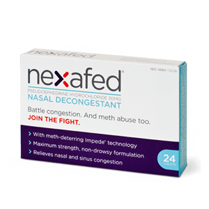 Nexafed Nasal Decongestant Meth-Deterring Tablets for Nasal Decongestant by Bayer Healthcare | Medical Supplies
