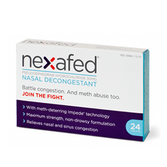 Buy Nexafed Nasal Decongestant Meth-Deterring Tablets online used to treat Nasal Decongestant - Medical Conditions