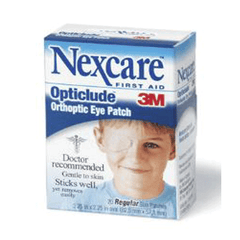 Nexcare Opticlude Orthoptic Eye Patch 20/box for Eye Products by 3M Healthcare | Medical Supplies