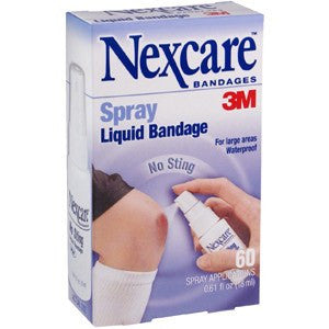 Buy Nexcare Liquid Spray No-Sting Bandage by 3M online used to treat Adhesive Bandages - Medical Conditions