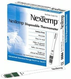 NexTemp Single-Use Disposable Thermometers