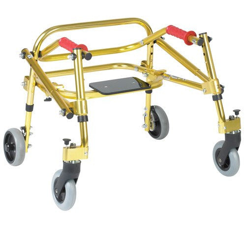 Nimbo Lightweight Gait Trainer with Seat - Rollators and Walkers - Mountainside Medical Equipment