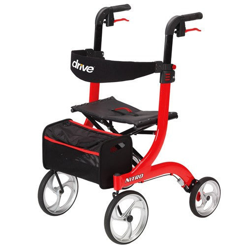 "Nitro Rollator with 10"" Wheels - Rollators and Walkers - Mountainside Medical Equipment"