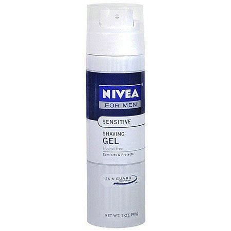 Nivea For Men Shaving Gel for Sensitive Skin 7 oz