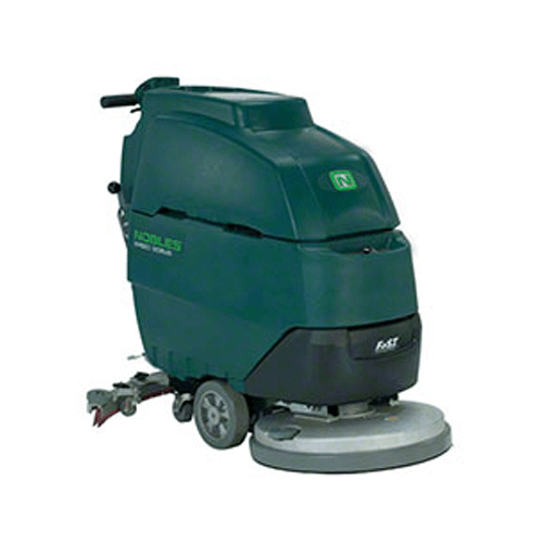 "Nobles Speed Scrub Walk Behind Floor Scrubber, 20"" Pad"