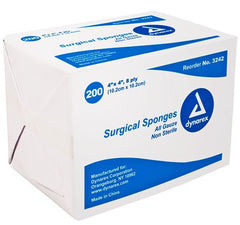 Buy Gauze Sponges, Non-Sterile, 8-Ply, 200/Bag by Dynarex from a SDVOSB | Gauze Pads