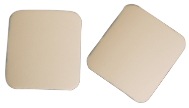 Non adhesive foam dressing with barrier  02954
