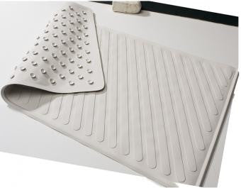 Buy Carex Heavy Duty Non Slip Suction Bath Mat 28 x 16 by Carex from a SDVOSB | Bath Safety