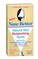 Buy Nose Better Natural Mist Moisturizing Nasal Spray, 1 oz by Oakhurst Company | Home Medical Supplies Online