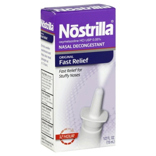 Buy Nostrilla Nasal Spray, 0.5 oz by Insight Pharmaceuticals LLC | SDVOSB - Mountainside Medical Equipment