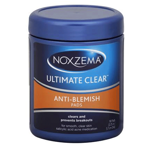 Noxzema Ultimate Clear Anti-Blemish Pads, 90 Count