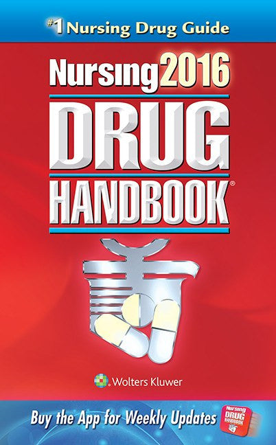Buy 2016 Nursing Drug Handbook 36th Edition, Best-Selling with Coupon Code from Lippincott Sale - Mountainside Medical Equipment
