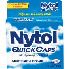 Buy Nytol QuickCaps Sleep Aid 32 Caplets online used to treat Insomnia - Medical Conditions