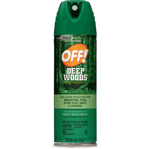 Off Deep Woods Insect Repellent with 25% Deet, 6 oz