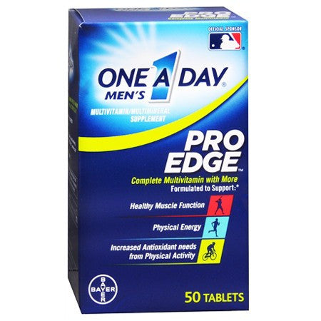 Buy One A Day Men's Pro Edge Complete Multivitamin by Bayer Healthcare from a SDVOSB | Vitamins, Minerals & Supplements