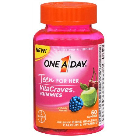 Buy One A Day Teen for Her VitaCraves Gummies online used to treat Vitamins, Minerals & Supplements - Medical Conditions