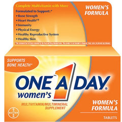 Buy One A Day Women's Formula Vitamin Tablets online used to treat Vitamins, Minerals & Supplements - Medical Conditions