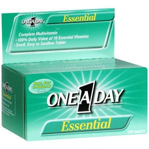 One A Day Essential Vitamins (130 Tablets)