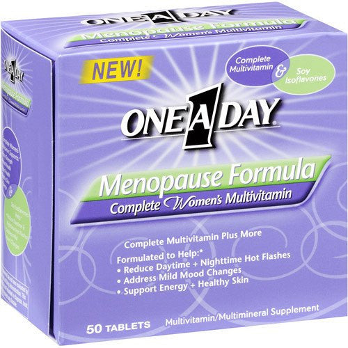 Buy One A Day Vitamins Menopause Formula 50 Tablets by Bayer Healthcare from a SDVOSB | Menopause Relief