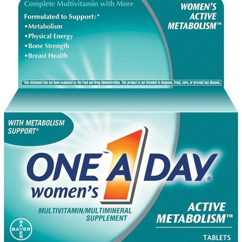 One A Day Women's Active Metabolism Multivitamin