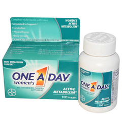 Buy One A Day Women's Active Metabolism Multivitamin online used to treat Vitamins, Minerals & Supplements - Medical Conditions