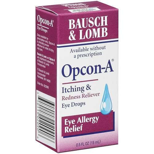 Buy Opcon-A Eye Drops 0.5 oz by Bausch & Lomb online | Mountainside Medical Equipment