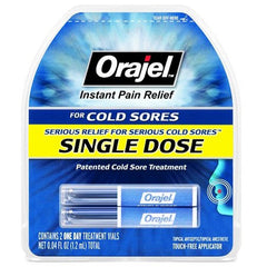 Buy Orajel Single-Dose Instant Cold Sore Treatment online used to treat Cold Sores - Medical Conditions