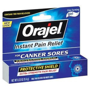 Buy Orajel Ultra Canker Sore Gel by Church & Dwight online | Mountainside Medical Equipment