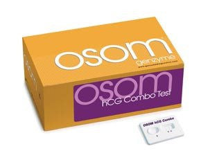 OSOM hCG Combo Pregnancy Test Kits 25/Box