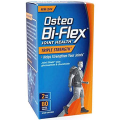 Buy Osteo Bi-Flex Joint Health Triple Strength Glucosamine MSM Chondroitin by Nature's Bounty | SDVOSB - Mountainside Medical Equipment