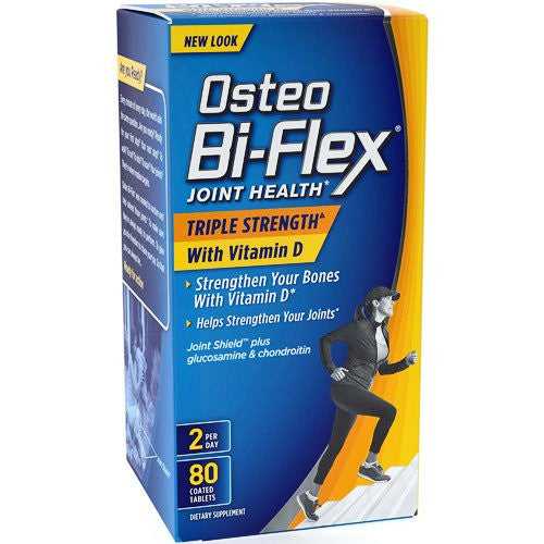Buy Osteo Bi-Flex Joint Health Triple-Strength with Vitamin D online used to treat Muscle and Joint Relief - Medical Conditions