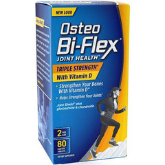 Osteo Bi-Flex Joint Health Triple-Strength with Vitamin D for Muscle and Joint Relief by Nature's Bounty | Medical Supplies