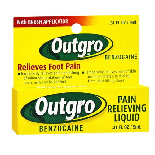 Outgro Pain Relieving Liquid - Pain Relievers - Mountainside Medical Equipment