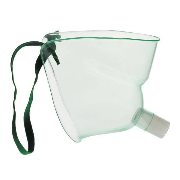 Adult Face Tent Mask with Adjustable Elastic Strap - Oxygen Masks - Mountainside Medical Equipment